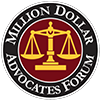 Million Dollar Advocates Forum logo