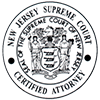 New Jersey Supreme Court Certified Attorney logo